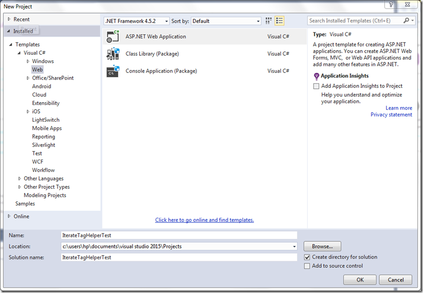 Building Complex Controls with Asp Net MVC 6 TagHelpers